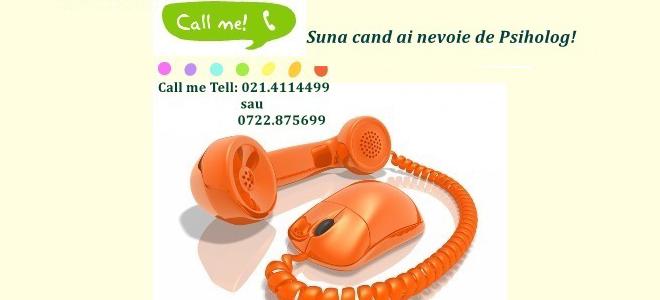 Call me! Suna-ma cand ai nevoie de Psiholog!